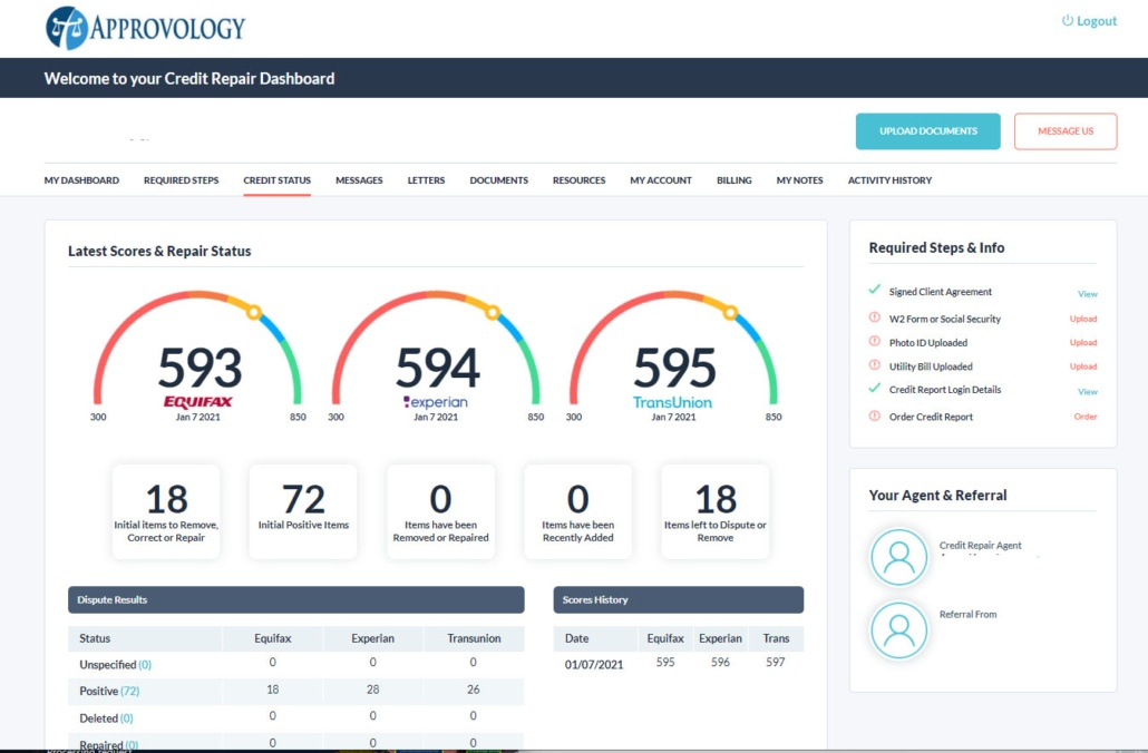 Approvology Dashboard 855-411-4115